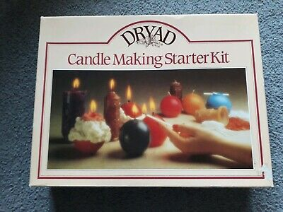 Vintage Dryad Candle Making Starter Kit new perfect
