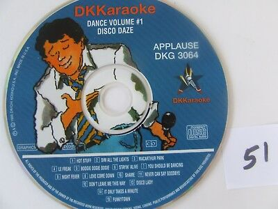DK Karaoke DKG 3064 Applause Night Fever and more