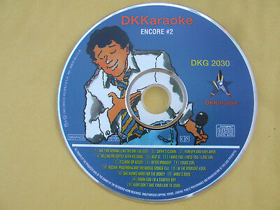 DK Karaoke DKG 2030 Millennium Encore #2 Excellent Condition