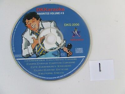 DK Karaoke Favorites Volume 6 DKG Excellent Condition