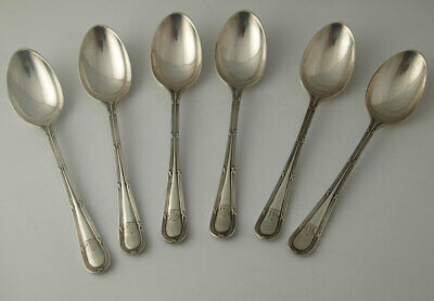 Fine Quality Set Of Solid Silver Teaspoons - 153g - London 1913