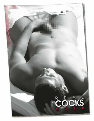 Pin-up Kalender Real Cocks 2020 Erotik Kalender Men Calendar Wandkalender Gay