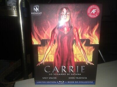 Carrie 1976 Limited Edition Italian Bluray Region 2