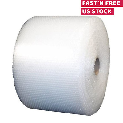 "Small Bubble Wrap Cushioning Shipping Roll Perforated Every 12"" x 700ft 3/16"