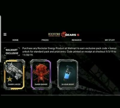 Gears of War 5 Rockstar Exclusive WALMART Only Code !!