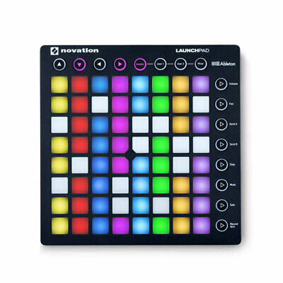 Novation performance Ableton Live controller Launchpad MK2 RGB LED mounted USED