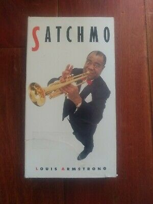 Louis Armstrong - Satchmo (VHS, 1989)