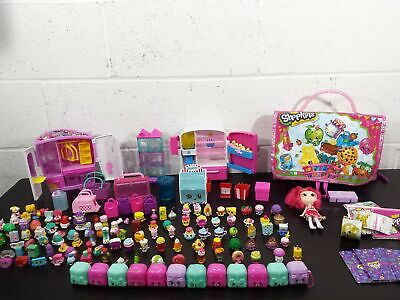 Shopkins Lot Figures Accessories Fridge Wardrobe
