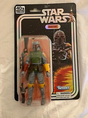 SDCC 2019 Hasbro Boba Fett Star Wars 40th Anniversary Action Figure Black Series