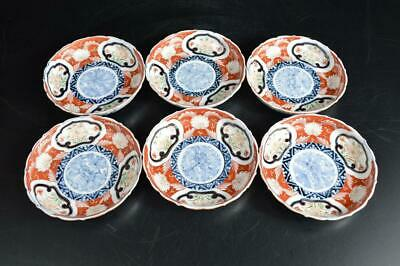 U5055: Japan Old Imari-ware Flower Arabesque pattern PLATE/Bowl/Dish Bundle sale