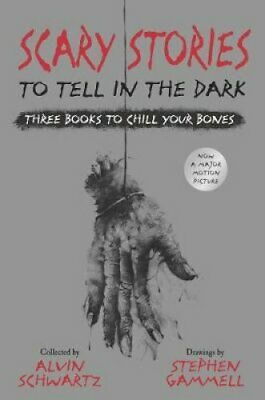 Scary Stories to Tell in the Dark: Three Books to Chill Your Bo... 9780062968975