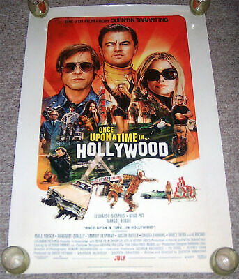 """Once Upon A Time In Hollywood***Original Movie Poster Single-Sided 27""""x40"""""""