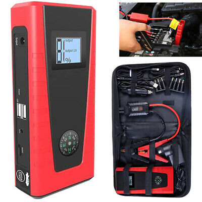 E POWER Bank Portable Vehicle Jump Starter Car Battery Charger Torch Lithium AU