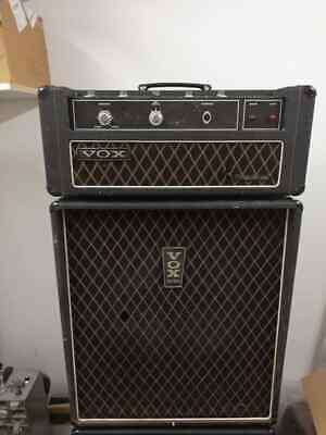 1967 Vox Foundation Bass Head and Cab