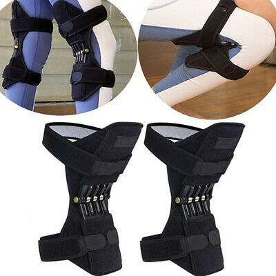 Patella Booster Spring Knee Brace Support Mountaineering Squat Sport Gym Running