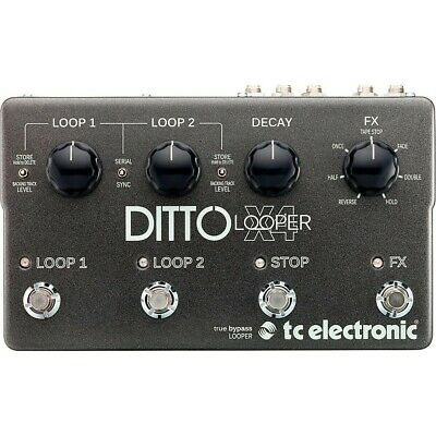 TC Electronic Ditto X4 Looper Effects Pedal