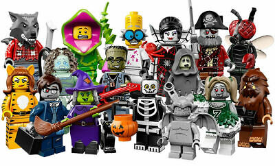Lego Minifigures CMF Series 14 Complete Set of 16 Monster - Brand new