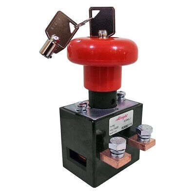 ED250L-1 Albright HD Emergency Stop Switch with Key 250A 48V Maximum