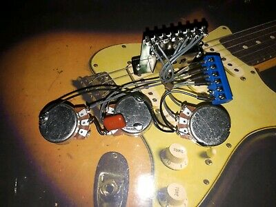920D CUSTOM STRAT 5-way Grease Bucket Tone Circuit Wiring ... on strat wiring switches, strat decal, strat 7-way wiring, strat wiring kit, strat wiring connector, strat jack plate, strat fender, strat wiring guide, strat switch wiring,