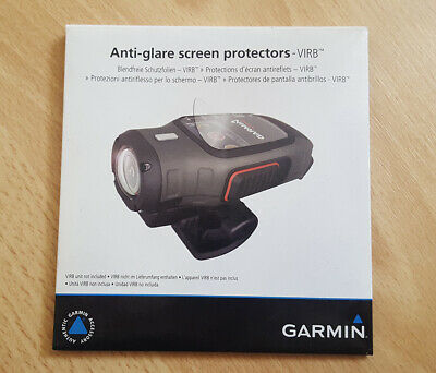 SALE! Garmin VIRB & Elite Action Camera Anti-Glare Screen Protectors x3 (New!)