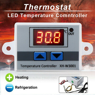 50 - 110°C Digital Thermostat Control LED Temperature Controller Tool Display