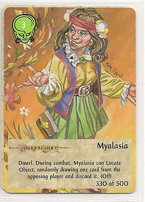Spellfire 4th Edition Card M//NM 252//500 Displacer Beast