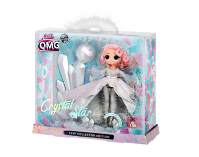 Lol Surprise Omg Crystal Star 2019 Winter Collectors Edition Doll Limited Diva