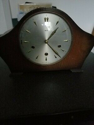 Antique Smiths Chiming Mantle Clock