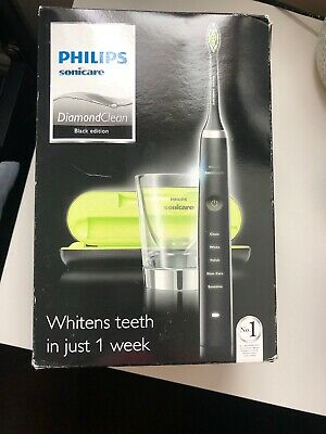 PHILIPS SONICARE DiamondClean RECHARGEABLE Toothbrush (BLACK) HX9351/04