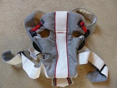 Baby Bjorn Air Carrier Grey and White
