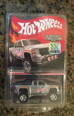 2019 Hot Wheels Factory Sealed Chevy Silverado Off-Road Mail In Collector Car