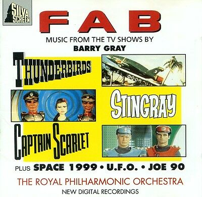 FAB cd Music From TV Shows By Barry Gray NEW Sealed Space 1999 Thunderbirds UFO