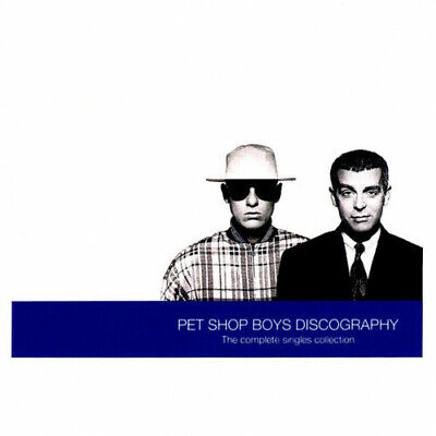PET SHOP BOYS Discography (the Complete Singles Collection) CD 18 Track (CDPMT