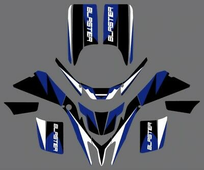 Decals & Stickers Graphics For Yamaha Blaster 200 Yfs200 1988-2006 BLUE / BLACK