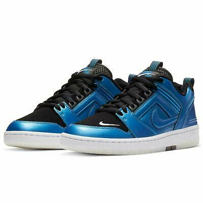NIKE SB Air Force II 2 Low QS Foamposite Rival Pack Blue Black sz 9.5 11 11.5 12