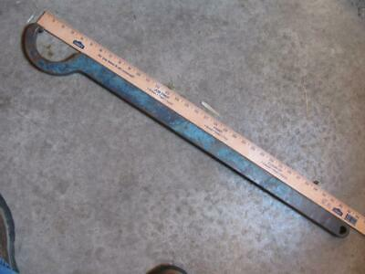 """Large 4"""" Pin Hook Spanner Wrench Fixed 34"""" Long"""