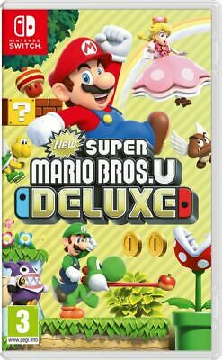 [Nintendo Switch] New Super Mario Bros. U Deluxe - NEUF