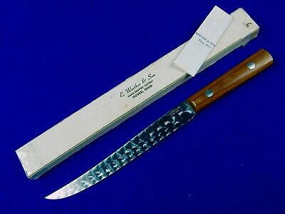 US E. Warther & Son Hand-crafted Cutlery Kitchen Knife w/ Box
