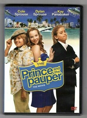 The Prince and the Pauper the Movie (DVD) - Cole & Dylan Sprouse, Kay Panabaker