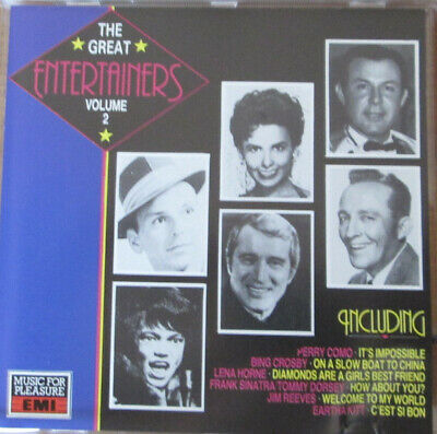 VARIOUS (70'S) Great Entertainers Volume 2 CD 20 Track Mono Stereo (CDMFP6057)