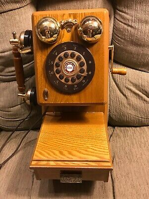 Spirit Of St. Louis Vintage Remake Pushbutton Wall Phone