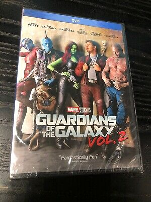 Guardians of the Galaxy Vol. 2 (DVD, 2017) New Sealed But DVD Is Unseated
