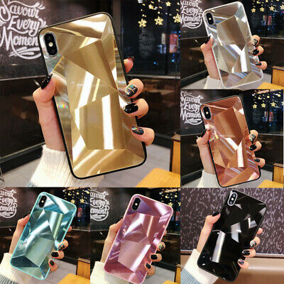 For Samsung Galaxy S8 S9 S10 Plus Note10 A20E Case 3D Diamond 360°Shockproof TPU