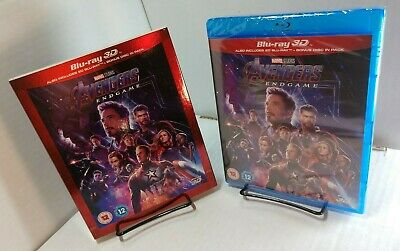 Marvel's Avengers:Endgame (3D+2D Blu-ray+Bonus Disc,REGION FREE) Slipcover-NEW