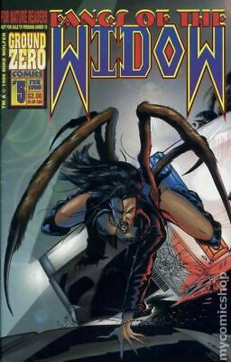 Fangs of the Widow #5 VF- 7.5 1996 Stock Image