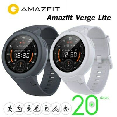 GLOBAL Xiaomi AMAZFIT Verge Lite Smartwatch GPS Orologio Fitness Tracker 20 DAYS