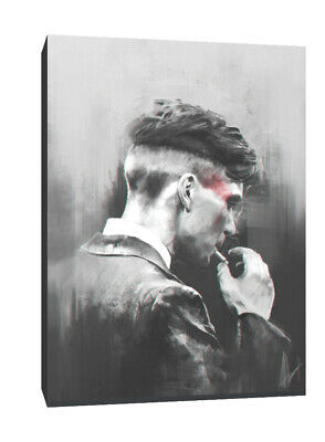 Peaky Blinders Tommy Shelby horse canvas wall art Wood Framed Ready to Hang XXL