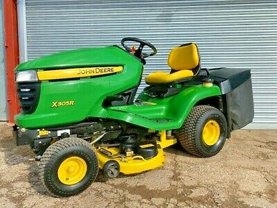 "John Deere X300R 42"" cut ride on lawn mower/garden tractor"