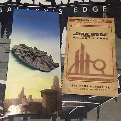 Disney World Hollywood Studios Star Wars Galaxy's Edge Opening Day Map & guide