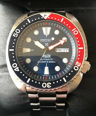 Seiko Padi Special Edition Automatic Diver Watch - 6 months old Almost Mint